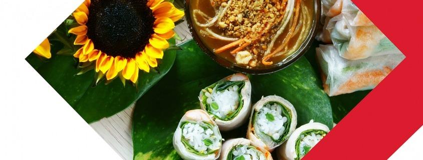Trois recettes colorées qui inspirent le printemps